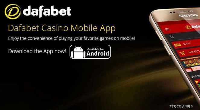 The Android version of the casino is perfectly adapted for smartphones and tablets